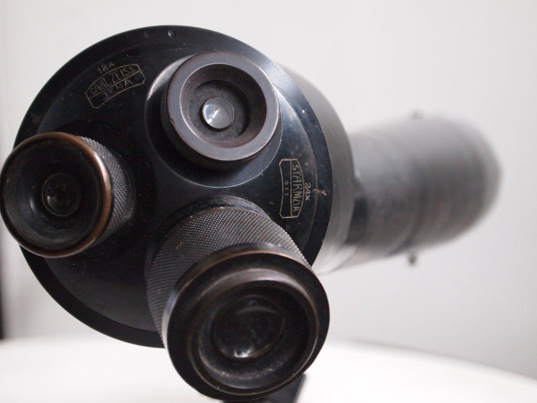 Carl Zeiss Entfernungsmesser : Rarität carl zeiss jena starmor revolver teleskop monocular x