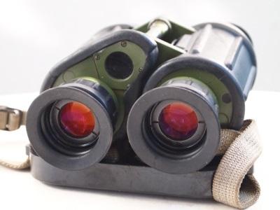 Carl Zeiss Jena Binoculars 7x40 Military East German