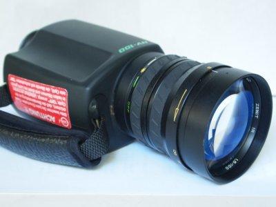 LOK F / Zenit NV 100 russian night vision / residual light amplifier