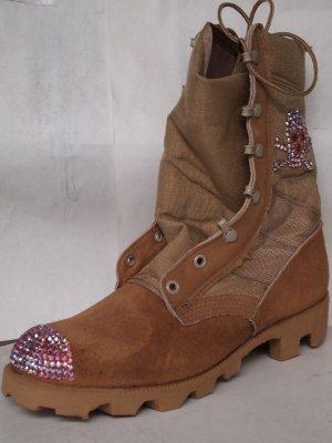 girls gone bad desert bottes boots avec swarovski et. Black Bedroom Furniture Sets. Home Design Ideas