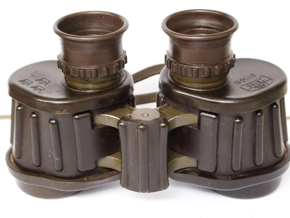 Fernglas Mit Entfernungsmesser Zeiss : Carl zeiss oberkochen 6x30 drei kronen militär fernglas der