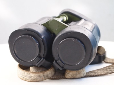 Carl Zeiss Jena Binoculars 7x40 Military East German